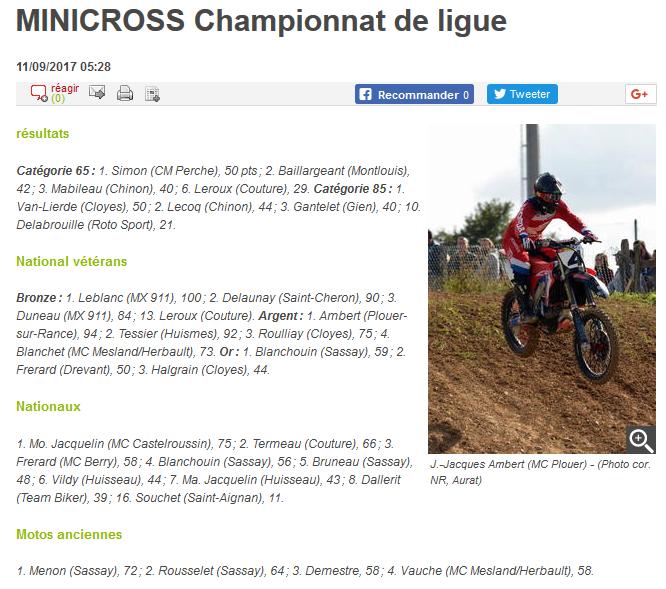 resultats course motocross herbault